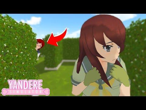 POURSUIVI DANS LE LABYRINTHE PAR INFO CHAN !.. - Yandere Simulator Mini Jeux #1