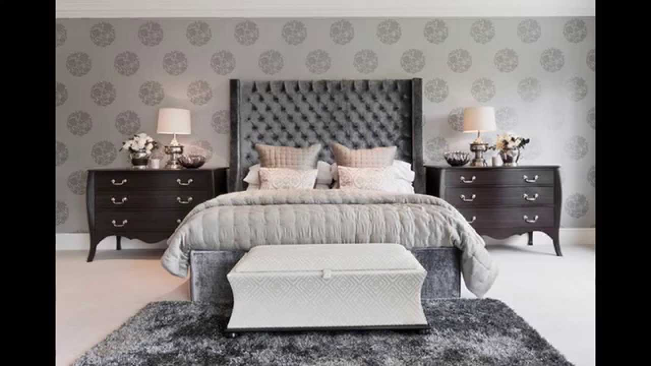 great grey bedroom ideas - youtube