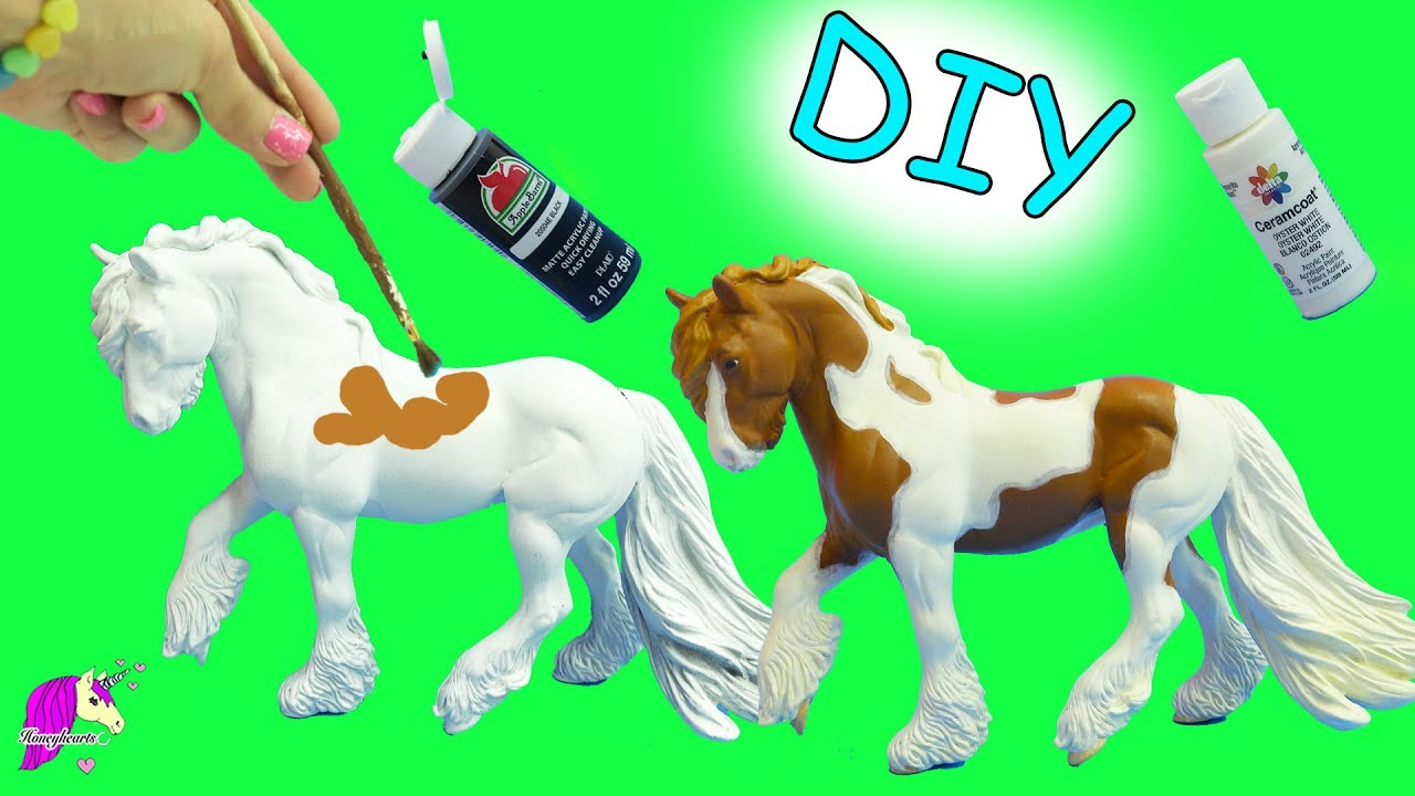 Diy do it yourself custom breyer traditional model horse acrylic diy do it yourself custom breyer traditional model horse acrylic painting craft video solutioingenieria Choice Image