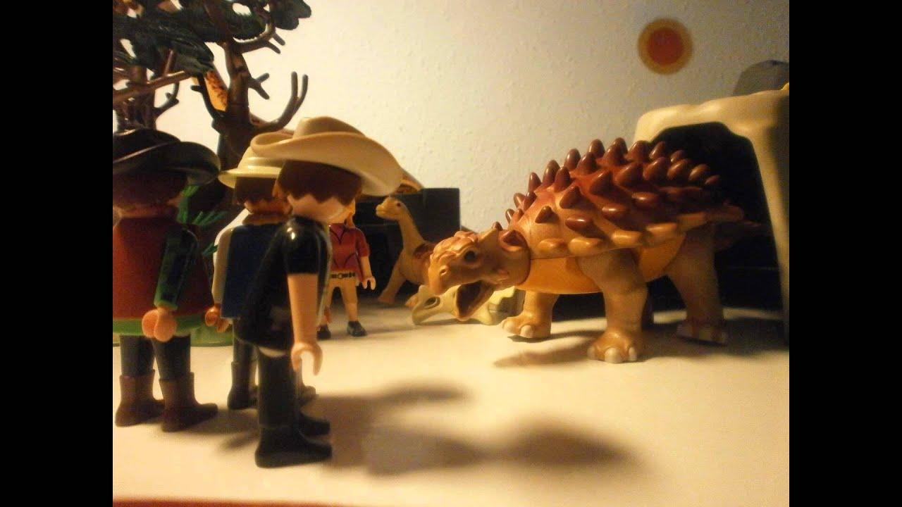 Viaje a la isla de dinosaurios playmobil youtube for Playmobil dinosaurios