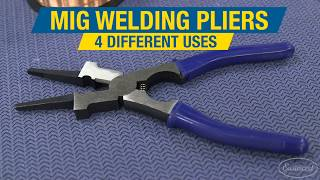Four Ways to Use MIG Welding Pliers! MIG Welding Tips & Tricks - Eastwood