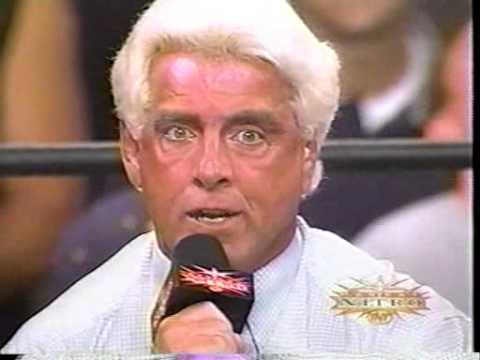 Ric Flair promo on Luger, Sting and Ms  Elizabeth
