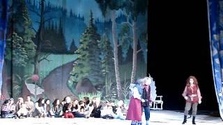 Снежная королева   танец разбойников 24.12.14 Севастопольский театр имени Луначарского