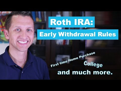 """<span class=""""title"""">Roth IRA Early Withdrawal Rules</span>"""