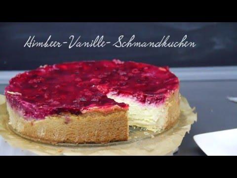 Himbeer Vanillepudding Schmandkuchen Youtube