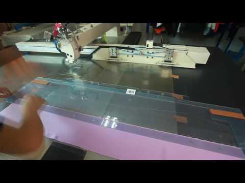 Công nghệ sản xuất sản phẩm may mặc 裤前片中分折筋模板
