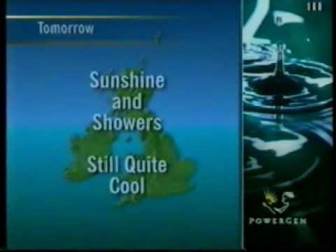 ITV Granada - Late Night Continuity, Ad Breaks, Weather & News (1996)