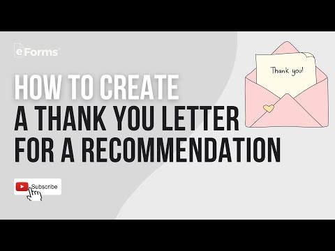 Letter Of Recommendation Thank You Letter from i.ytimg.com