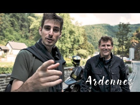 Motorcycle Travel and Life Choices (Belgium / Luxembourg Ardennes Episode)