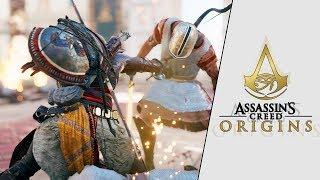 ASSASSIN'S CREED: ORIGINS | GAMEPLAY EXCLUSIVO DESDE GAMESCOM 2017 - BAYEK Y AYA | XxStratusxX
