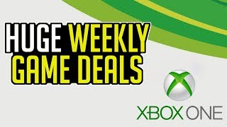 HUGE Xbox One WEEKLY Game DEALS AVAILABLE RIGHT NOW - BIG Savings (2/19 - 2/25)