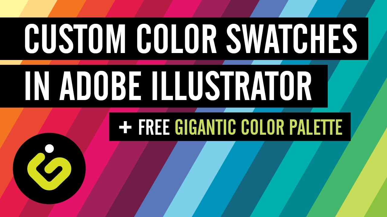 custom color swatches in adobe illustrator free gigantic color
