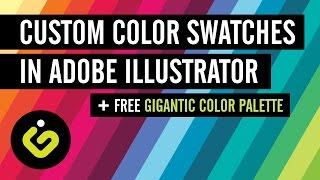 Custom Color Swatches Adobe Il Rator Free Gigantic Color Palette