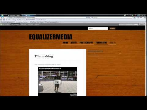 Tutorial on how to find music videos from youtube easily and rss feeds