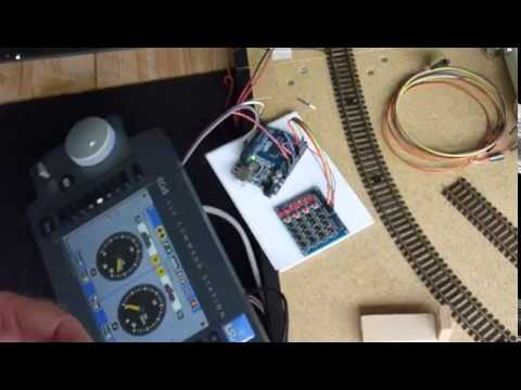 Arduino used as an S88 occupancy detector board | rudysmodelrailway