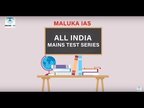 All INDIA MAINS TEST SERIES BY MALUKA IAS