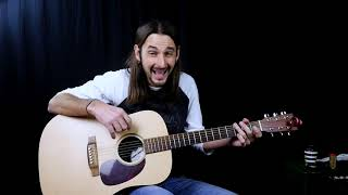 How to Play Tequila Sunrise on Acoustic Guitar - Eagles Songs