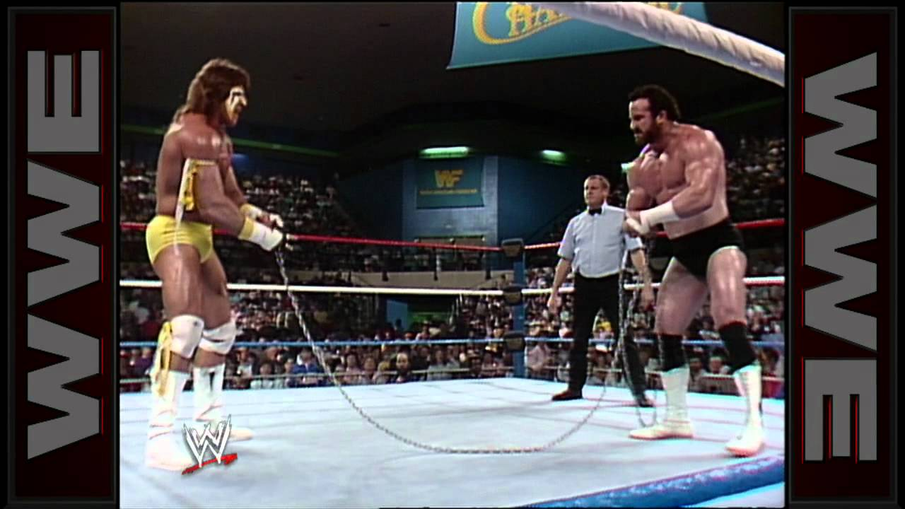 Download The Ultimate Warrior vs. Hercules - Chain Match