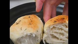 Рецепт чесночного хлеба | Чесночные булочки к супу