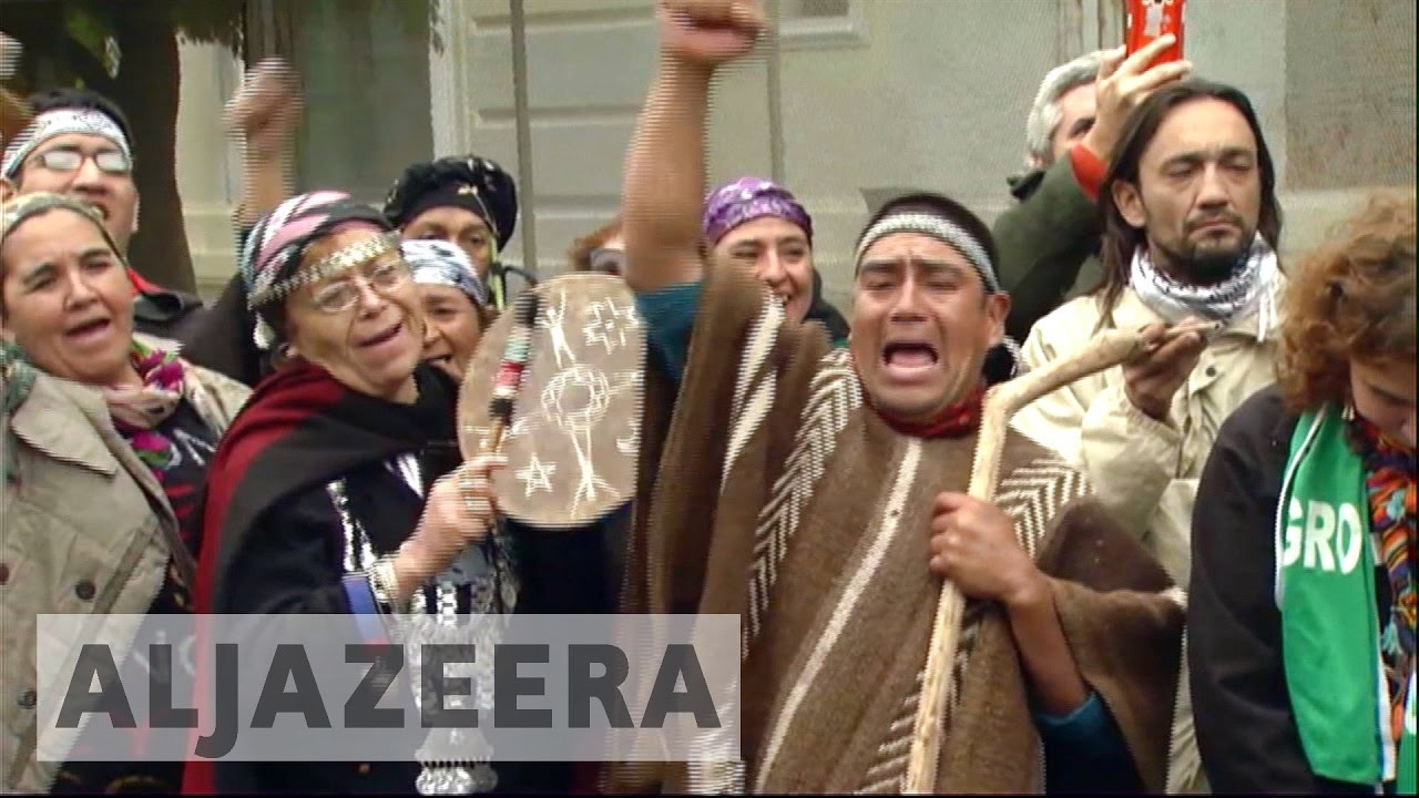 Argentina's indigenous march for lost land