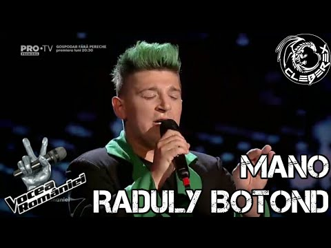 Mano Raduly Botond - In my defense (Vocea României 08/09/17)