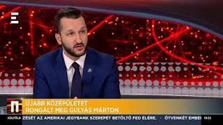 Újabb középületet rongált meg Gulyás Márton - Horváth Bálint - ECHO TV