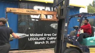 First STAR WARS Miniland Models Arrive to LEGOLAND California!