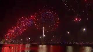 سماء أبوظبي تتزين بعلم الإمارات في اليوم الوطني (فيديو)   المصري اليوم