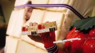 Bumper Bar Telly Ad (raspberry & White Chocolate)