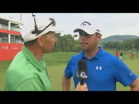 Gary Woodland interview after playoff at CIMB Classic