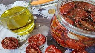 Готовим дома/Вяленые помидоры, просто и оооооочень вкусно!!!/Живём в деревне