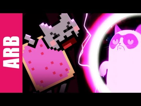 Grumpy Cat vs. Nyan Cat - ANIMEME RAP BATTLES