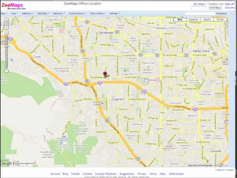 Create and Publish Map on