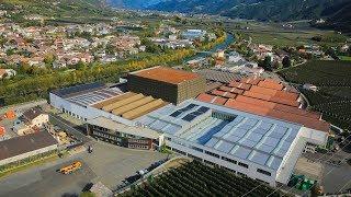 Fm visita lo stabilimento mele della TEXEL   VI.P in Val Venosta