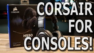 Corsair HS50 Headset - Review and First Look