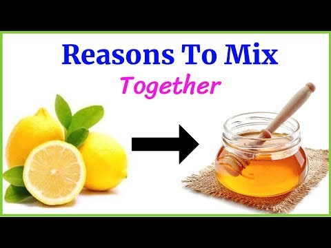 Mix lemon juice with honey for amazing benefits