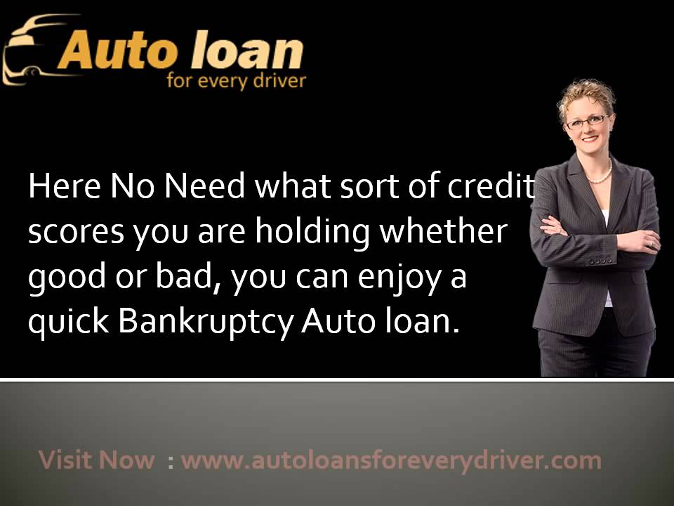 discharged bankruptcy car finance