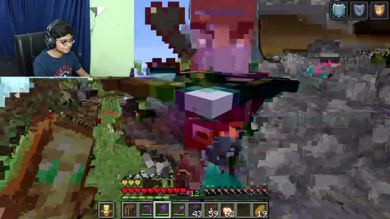 Download MINECRAFT , BUT TREES DROP OP ITEM!!