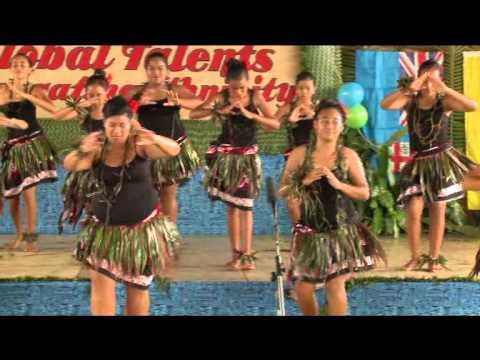 Moea Girls Niuean dance - Niue High School