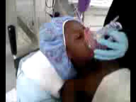 Tiarra high on pre-surgery gas