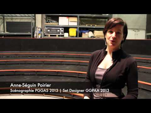 A new set for the 2013 GGPAA Gala