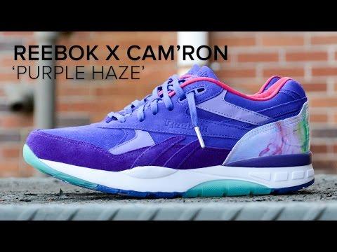 Reebok Ventilator Supreme x Cam ron  Purple Haze  Quick ... 15ba62fc1