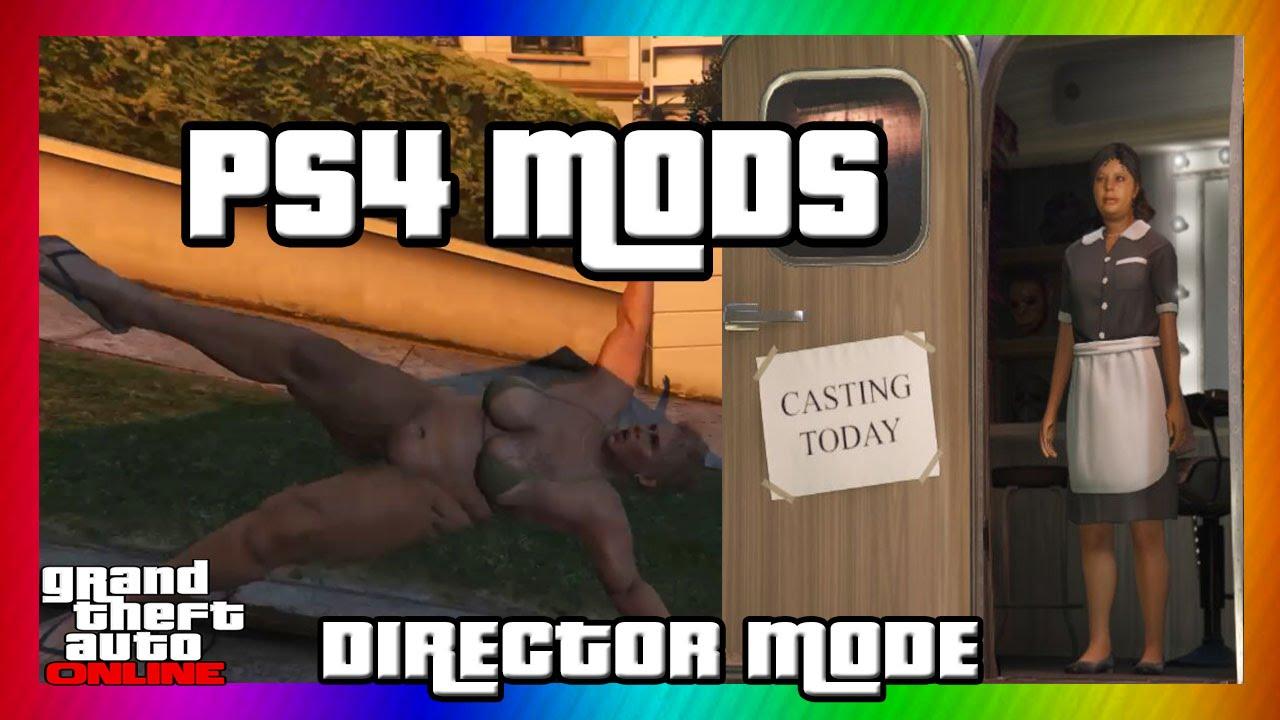 how to get director mode gta 5 ps4 offline