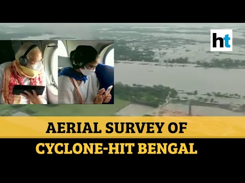 Watch: PM Modi, Bengal CM conduct aerial survey of cyclone Amphan-hit areas