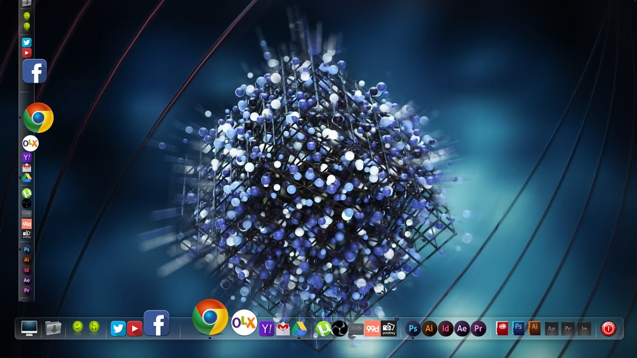 MUST HAVE - Awesome Windows 10 Desktop Theme - Customize ...