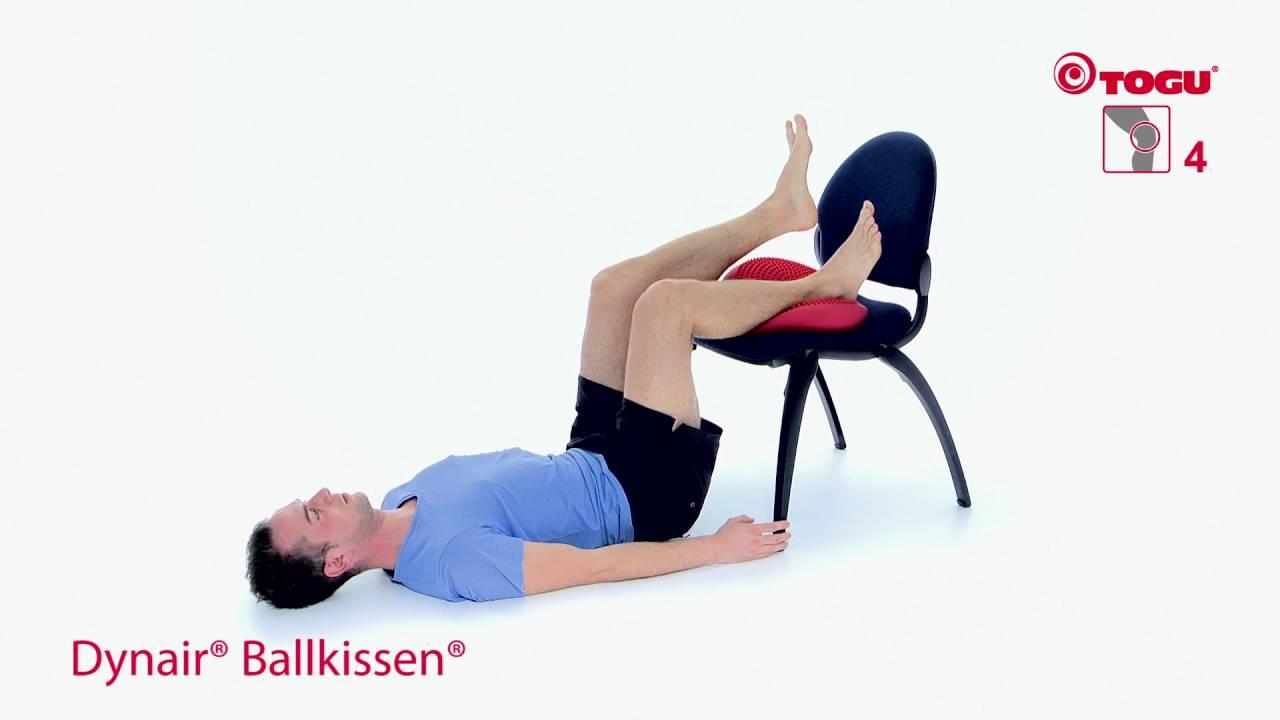 Kniegelenk Übungen mit TOGU Gesund Trainieren - knee exercises ...