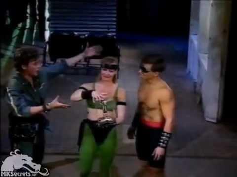 [HQ] Mortal Kombat 1 - Elizabeth Malecki and Daniel Pesina on GameMasters (Behind the Scenes) (1993)