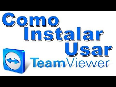 Como Instalar y Usar Teamviewer