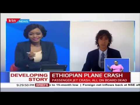 Aviation analyst Alex Macheras speaks on the Ethiopian Airlines crash