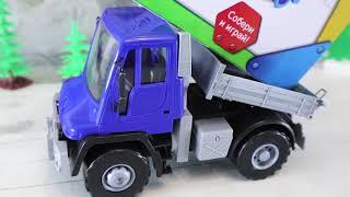 Машины, Трактора и Паровозы для детей. Детское видео с игрушками